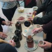 Students Make Clay Masks with Honey and Hydrosols