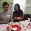 Two Smiling Students at an In-Person Lotions & Creams Class with Alice Duvernell at The Nova Studio