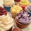 Cold Process Soap Cupcakes, Piped & Colored in Various Methods