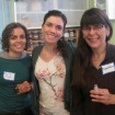 Lori with perfume students