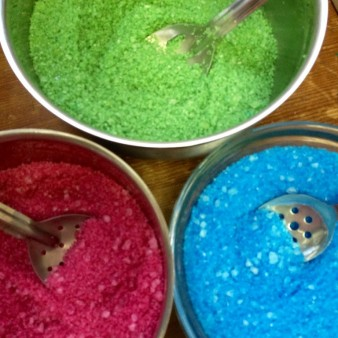 Pink, Blue & Green Bath Salts