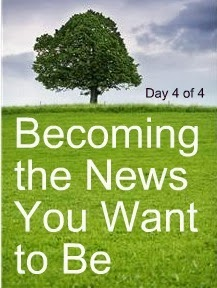 Becoming the News You Want to Be, Day 4 of the 4-Day Audio Business Boot Camp by Donna Maria Coles Johnson of the Indie Business Network
