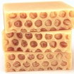 Yellow Soap with Honeycomb Texture on Top