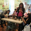 students choosing essential oils