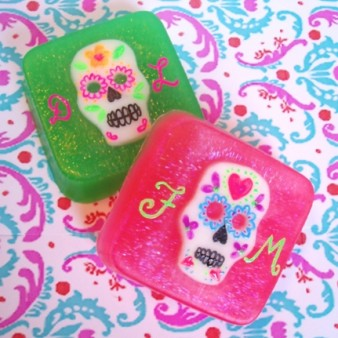 Soapylove Sugar Skulls Melt & Pour Soap by Debbie Chialtas