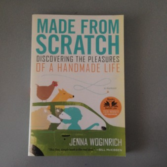 made from scratch book Jenna Woginrich front cover