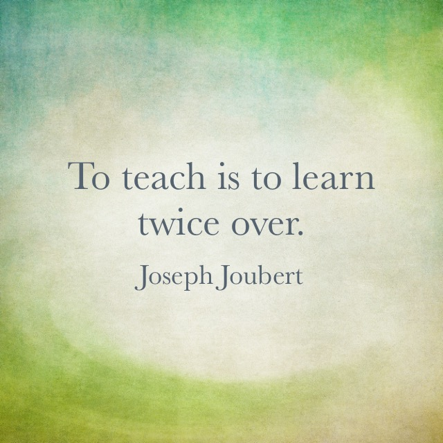 To Teach is to Learn Twice   Elements Of Numbers