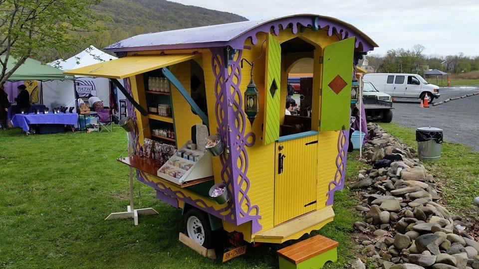 vardo mobile gypsy market wagon