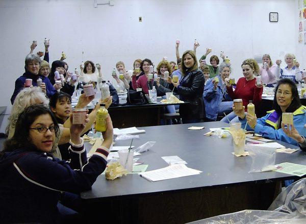 Lori's De Anza Salts and Scrubs Class