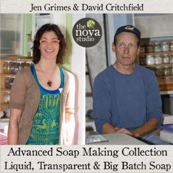 jen and david advanced soap making collection