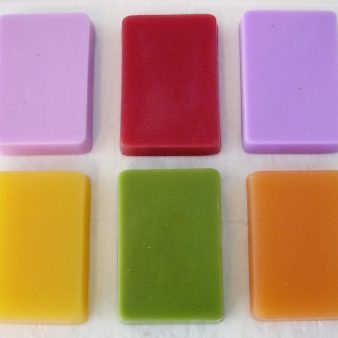 Melt and Pour Soap 6 Colors